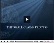 Small claims video.